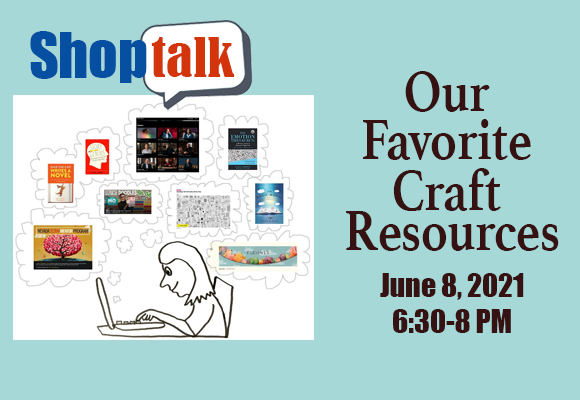 Who should come to this Shop Discussion? Anyone who wants to learn about great books, websites, classes, and programs for kidlit authors and Illustrators wanting to improve their craft. Who else should come? Anyone who is willing to help others by sharing the books, websites, and programs that have helped them improve their craft. We'll discuss what we've learned  and find out where we might learn more. Email newmexico@scbwi.org for the link if you would like to join us!